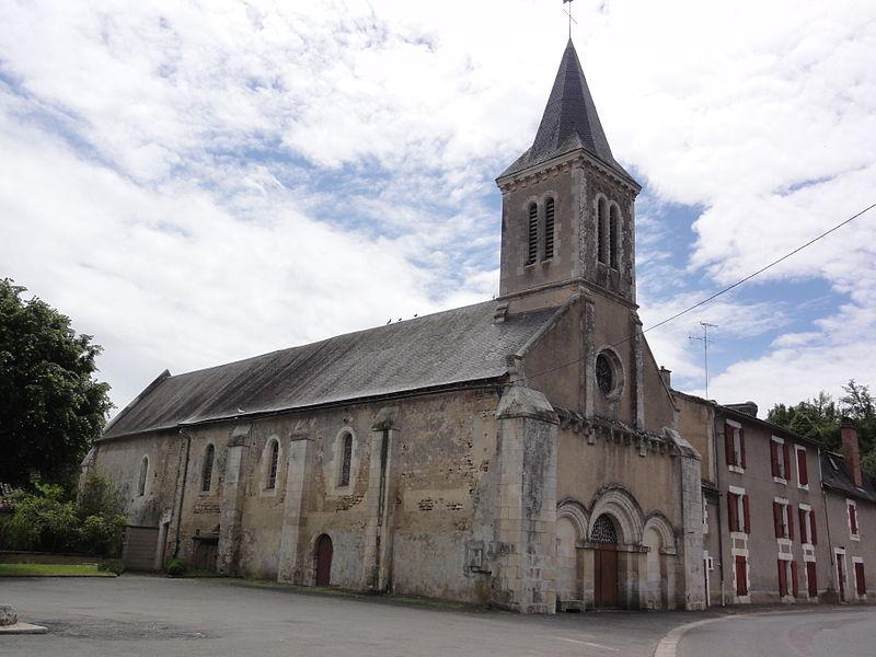 Photo du Monument Historique Eglise situé à Montreuil-Bonnin