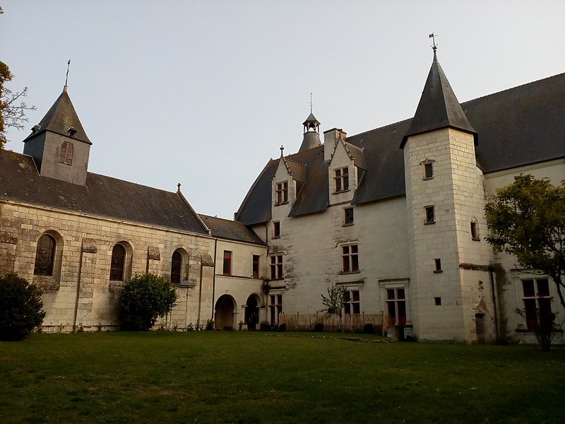 Photo du Monument Historique Château situé à Monts-sur-Guesnes
