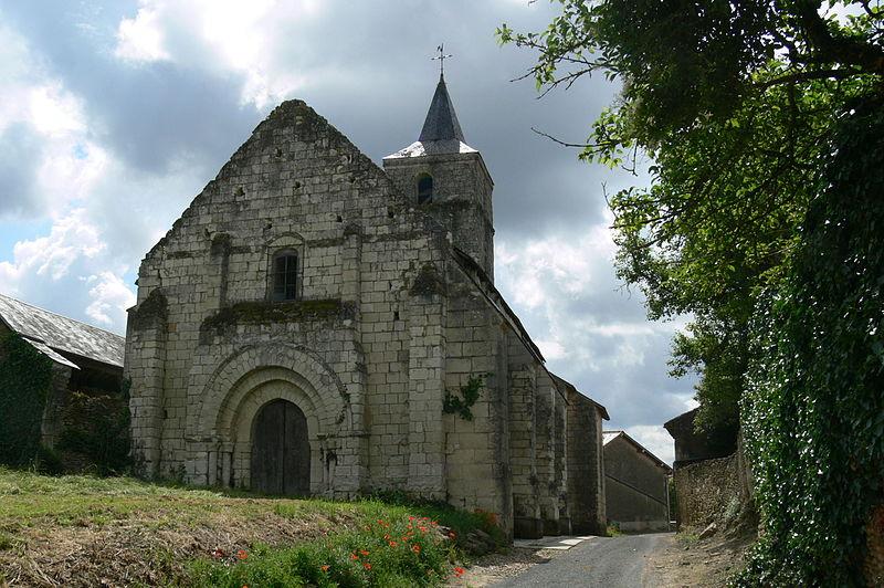 Photo du Monument Historique Eglise Notre-Dame de Chasseignes situé à Mouterre-Silly