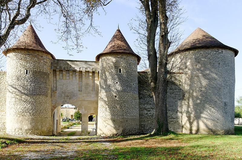 Photo du Monument Historique Château de Furigny situé à Neuville-de-Poitou