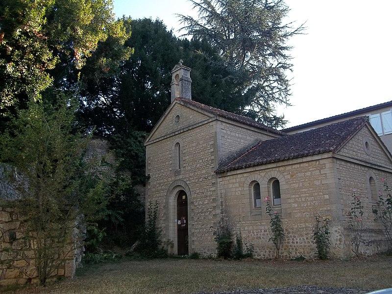 Photo du Monument Historique Chapelle Sainte-Croix (vestiges de l'ancienne) situé à Poitiers