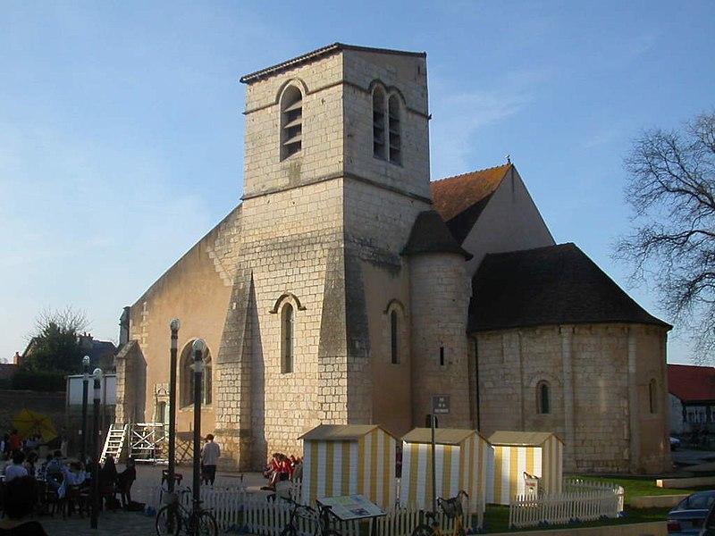 Photo du Monument Historique Eglise Saint-Germain situé à Poitiers