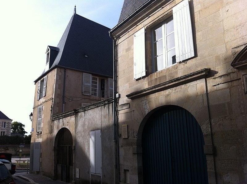 Photo du Monument Historique Hôtel Couturer situé à Poitiers