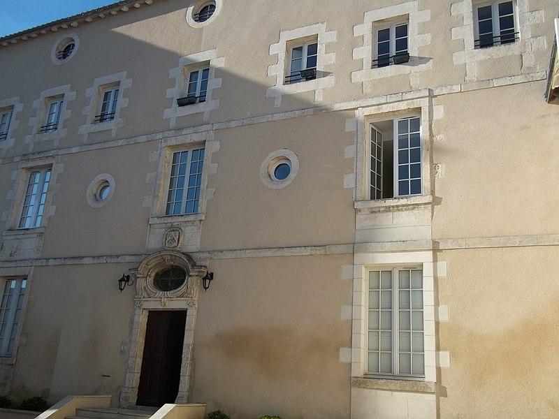 Photo du Monument Historique Hôtel de Dreux-Brézé situé à Poitiers