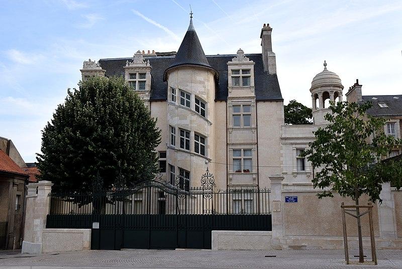 Photo du Monument Historique Hôtel Jean-Baucé situé à Poitiers