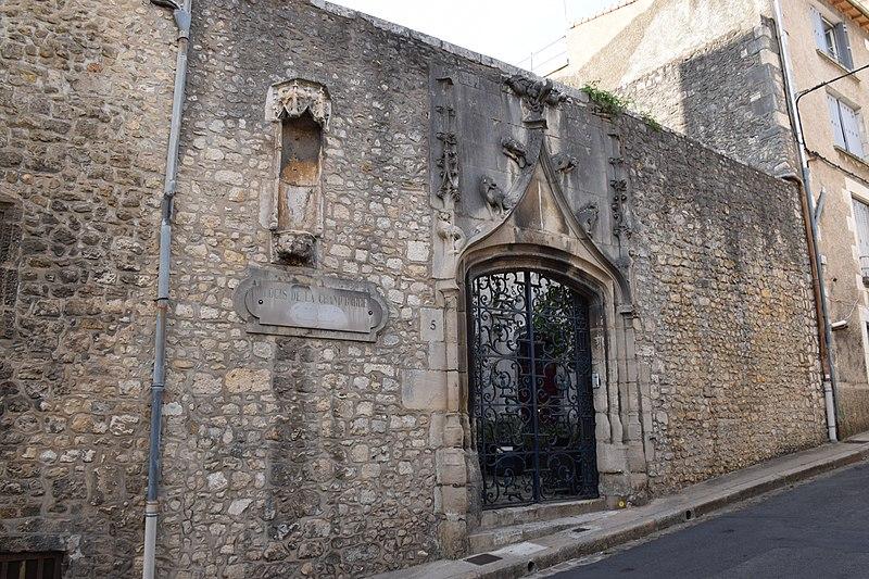 Photo du Monument Historique Logis dit de la Grande-Barre situé à Poitiers