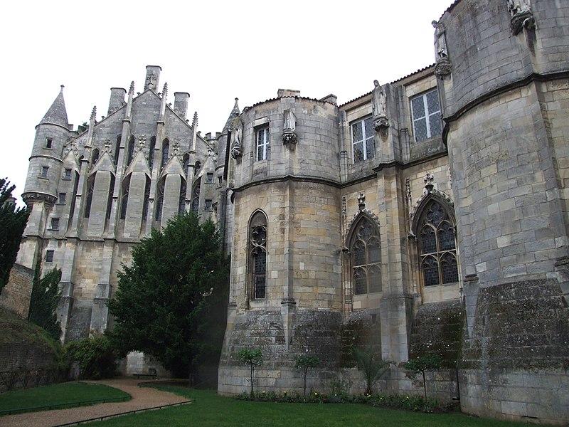 Photo du Monument Historique Ancien Palais des Comtes de Poitiers situé à Poitiers
