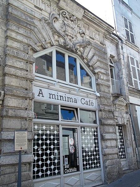 Photo du Monument Historique Grand Prieuré d'Aquitaine situé à Poitiers