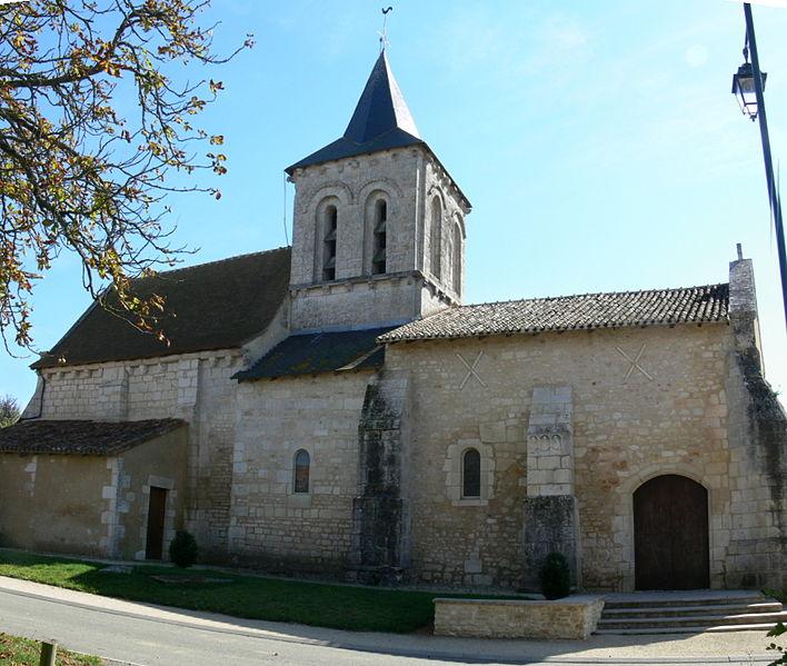 Photo du Monument Historique Eglise Saint-Martin situé à Pouillé