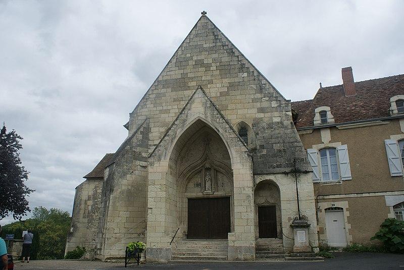 Photo du Monument Historique Eglise situé à La Roche-Posay