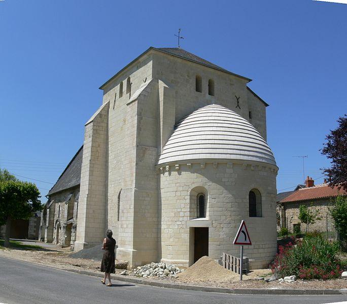 Photo du Monument Historique Eglise Saint-Germain de Claunay situé à La Roche-Rigault