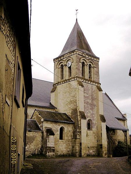 Photo du Monument Historique Eglise de Saint-Christophe situé à Saint-Christophe