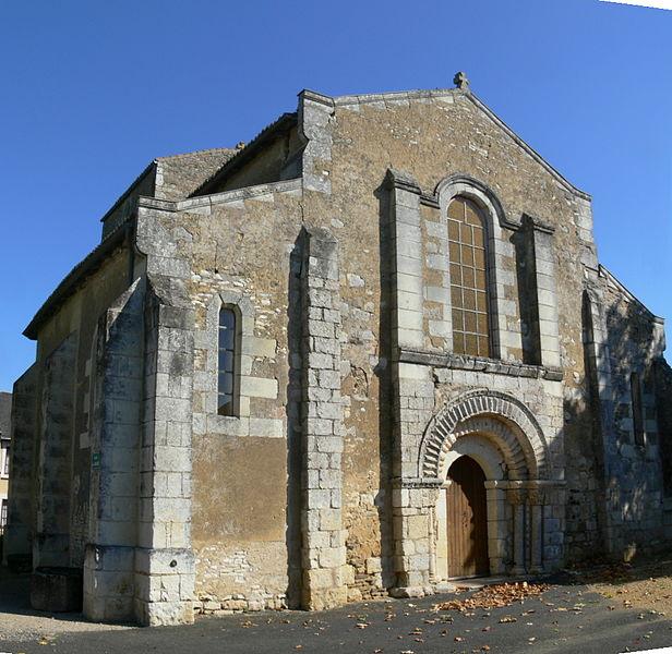 Photo du Monument Historique Eglise de Frontenay-sur-Dives situé à Saint-Jean-de-Sauves