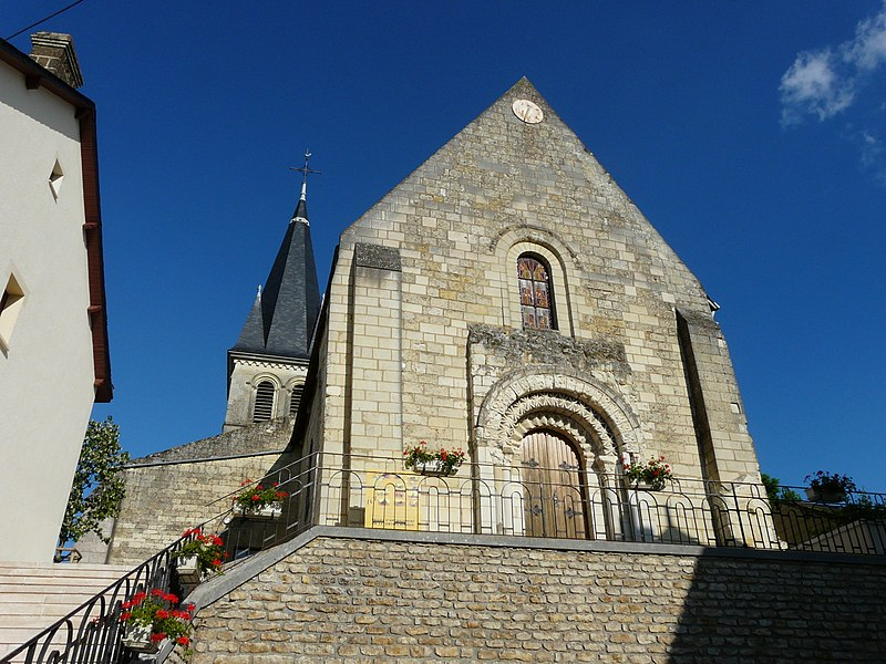 Photo du Monument Historique Eglise situé à Saint-Léger-de-Montbrillais