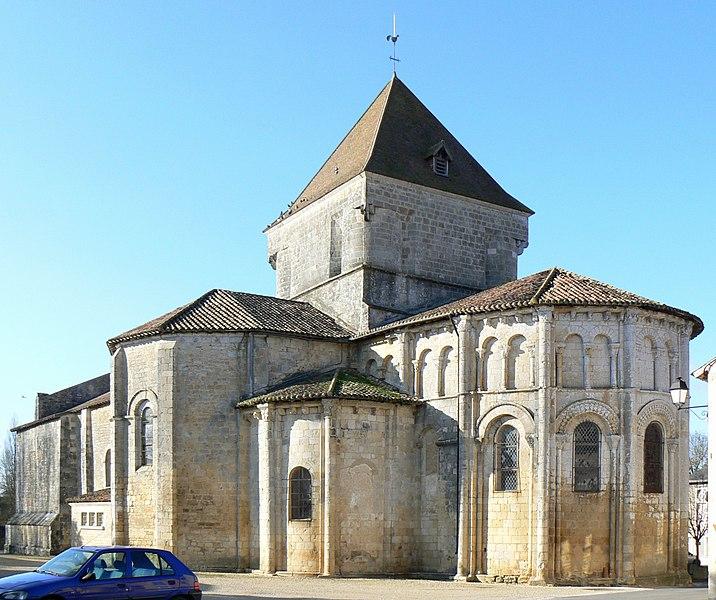 Photo du Monument Historique Eglise Saint-Maurice situé à Saint-Maurice-la-Clouère