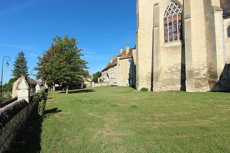 Photo du Monument Historique Cimetière situé à Saint-Sauveur