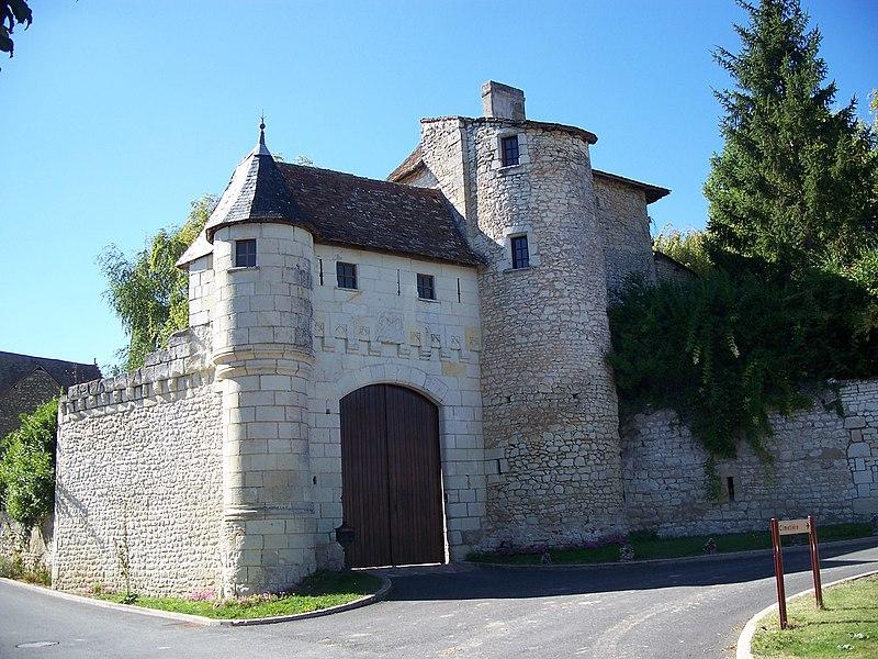 Photo du Monument Historique Commanderie de la Foucaudière situé à Saint-Sauveur