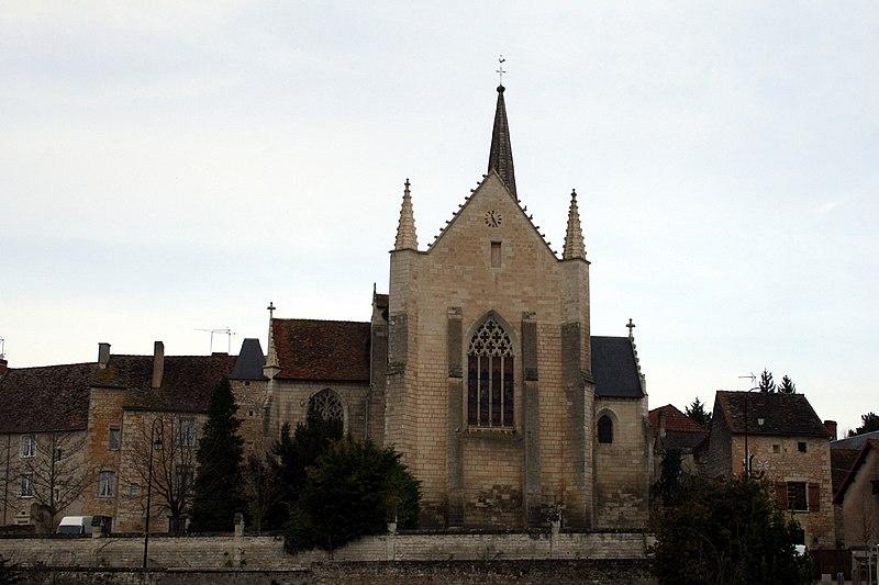 Photo du Monument Historique Eglise et son cloître situé à Saint-Sauveur
