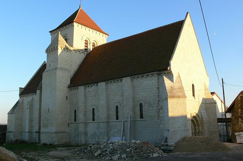 Photo du Monument Historique Eglise Saint-Pierre situé à Savigny-sous-Faye