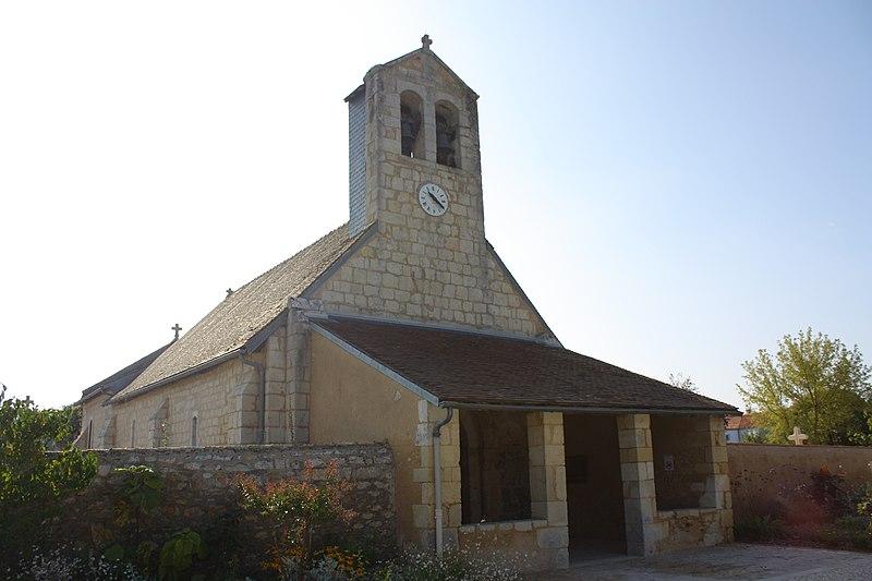 Photo du Monument Historique Eglise situé à Sèvres-Anxaumont
