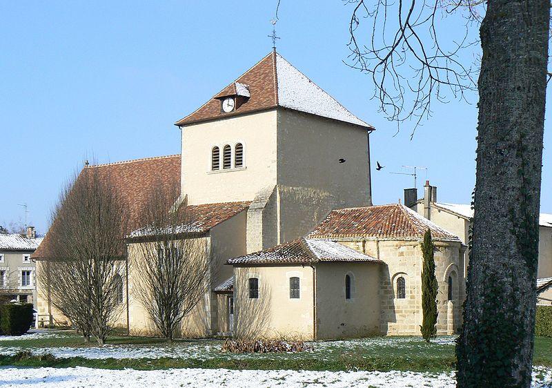 Photo du Monument Historique Eglise situé à Sommières-du-Clain