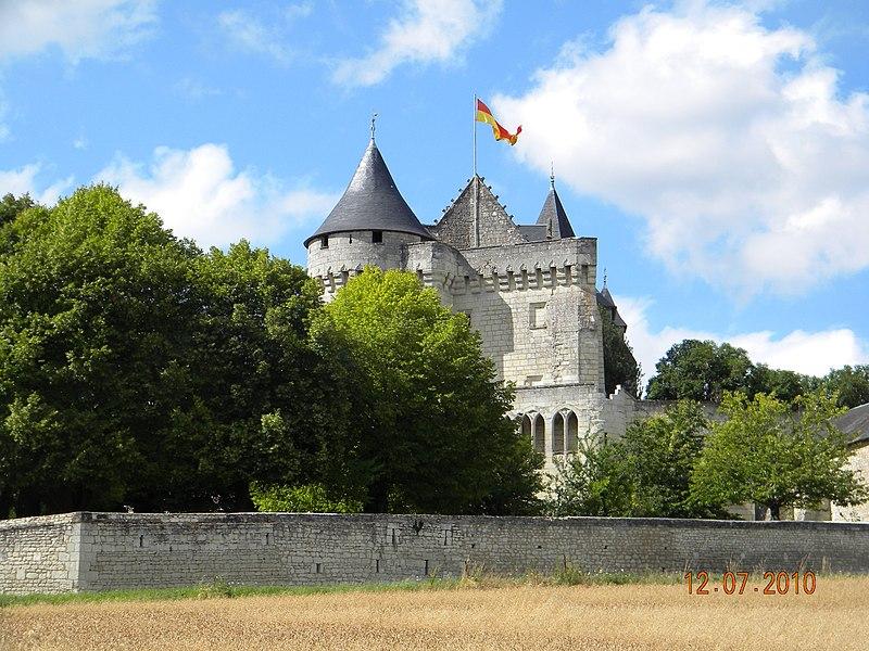 Photo du Monument Historique Château de la Motte situé à Usseau