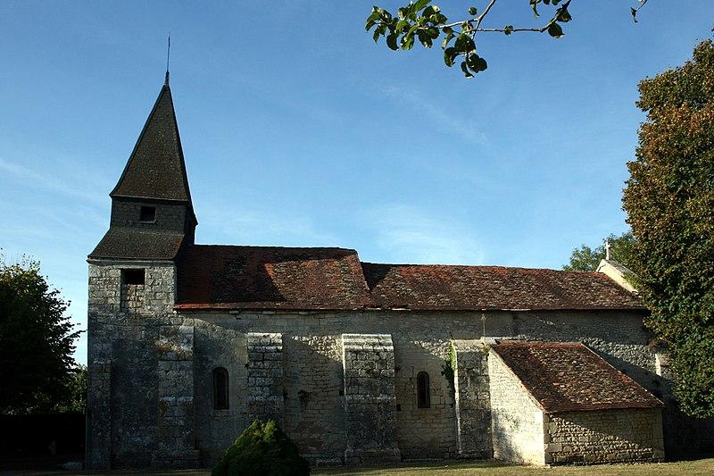 Photo du Monument Historique Eglise Saint-Hilaire de Salles-en-Toulon situé à Valdivienne