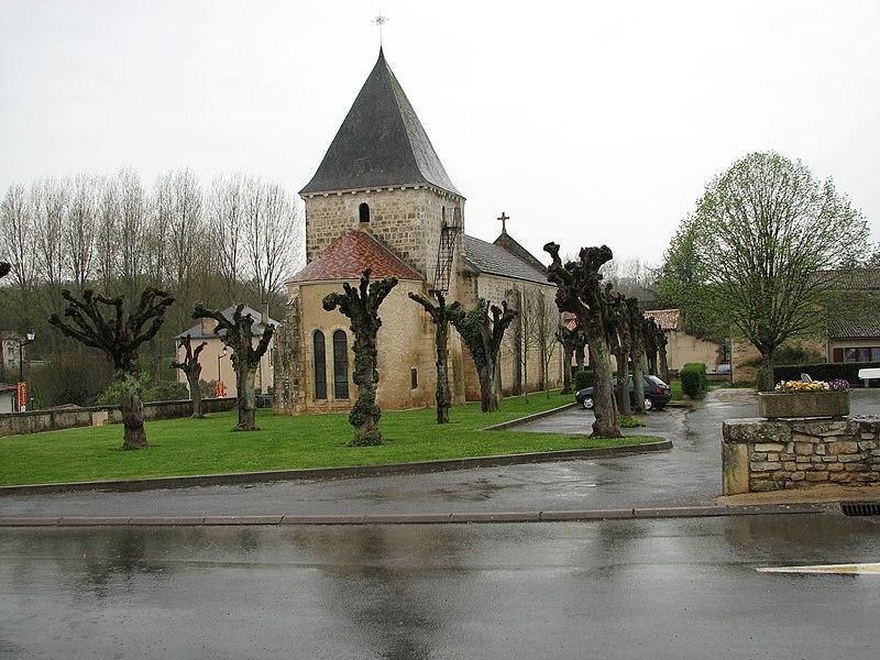 Photo du Monument Historique Eglise situé à Vaux