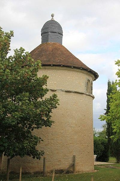 Photo du Monument Historique Pigeonnier situé à Vendeuvre-du-Poitou
