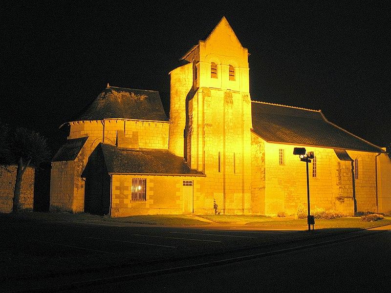 Photo du Monument Historique Eglise situé à Vézières