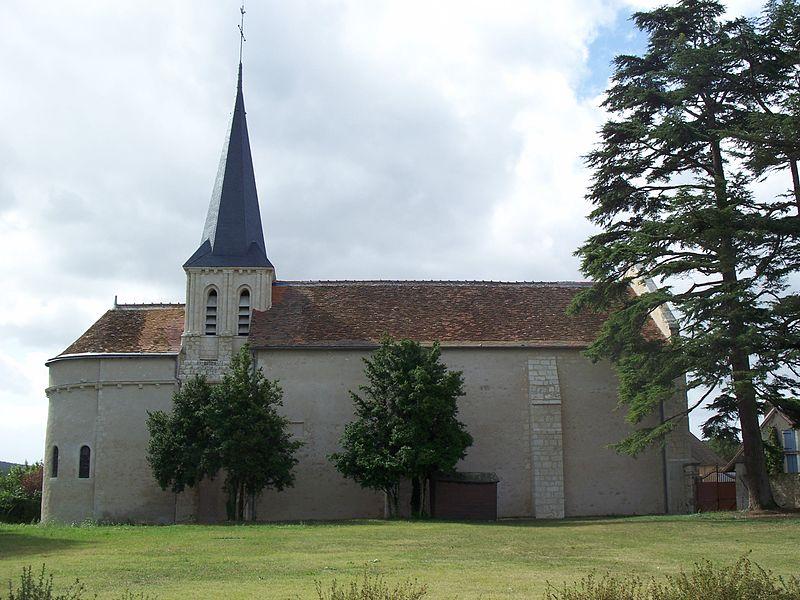 Photo du Monument Historique Eglise situé à Vicq-sur-Gartempe