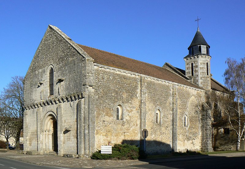 Photo du Monument Historique Eglise situé à Villedieu-du-Clain (La)