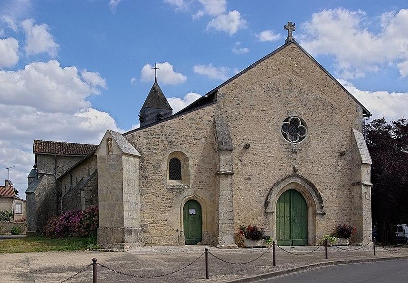 Photo du Monument Historique Eglise Saint-Laurent situé à Romagne