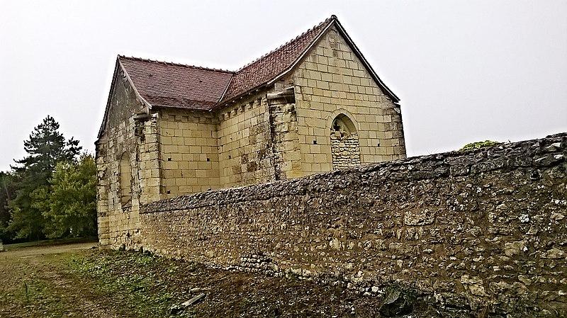 Photo du Monument Historique Chapelle de Beauvais situé à Monthoiron
