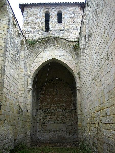 Photo du Monument Historique Ancienne commanderie de templiers Saint-Jean situé à Loudun
