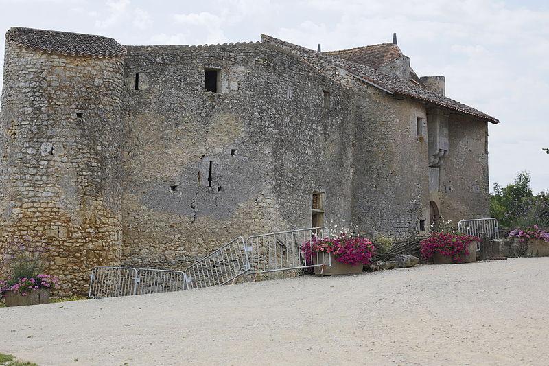 Photo du Monument Historique Château situé à Chiré-en-Montreuil