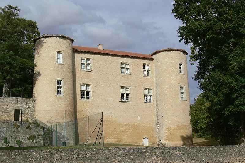 Photo du Monument Historique Château situé à Ayron