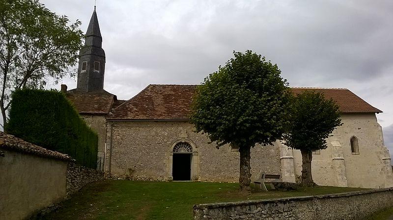 Photo du Monument Historique Eglise Saint-Hilaire de Cenan situé à Puye (La)