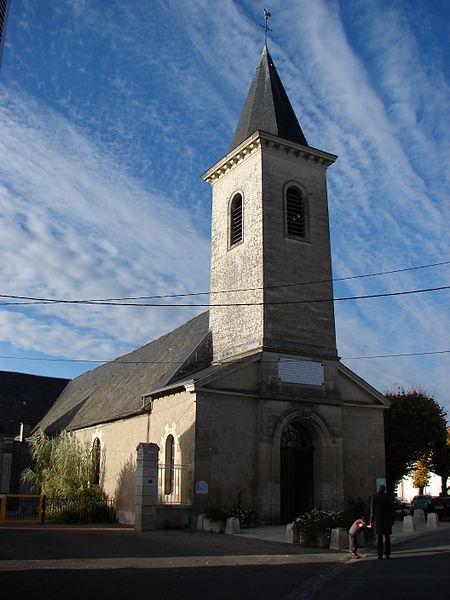 Photo du Monument Historique Eglise Sainte-Croix situé à Migné-Auxances
