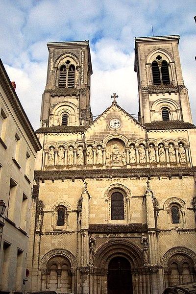 Photo du Monument Historique Église Saint-Jacques situé à Châtellerault