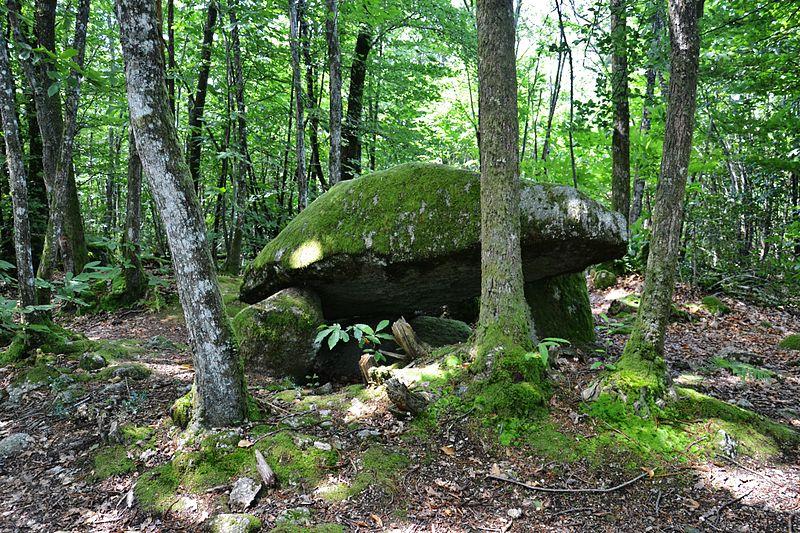 Photo du Monument Historique Dolmen situé à Ambazac