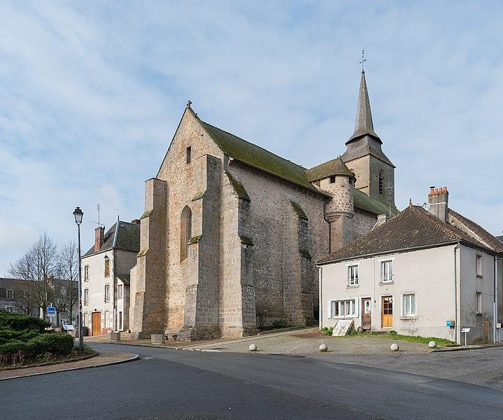 Photo du Monument Historique Eglise Saint-Martial situé à Arnac-la-Poste