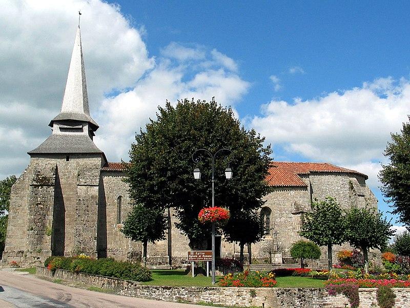 Photo du Monument Historique Eglise de la Nativité de la Très Sainte-Vierge situé à Bersac-sur-Rivalier