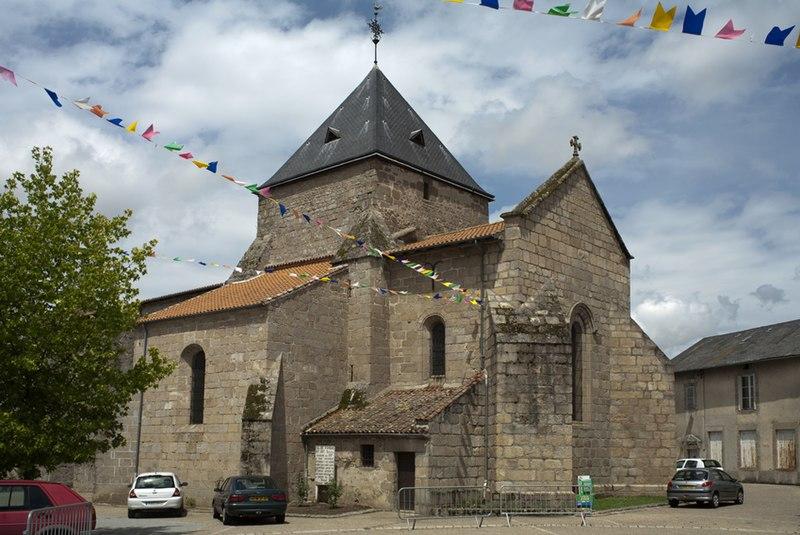 Photo du Monument Historique Eglise Saint-Léger situé à Bessines-sur-Gartempe