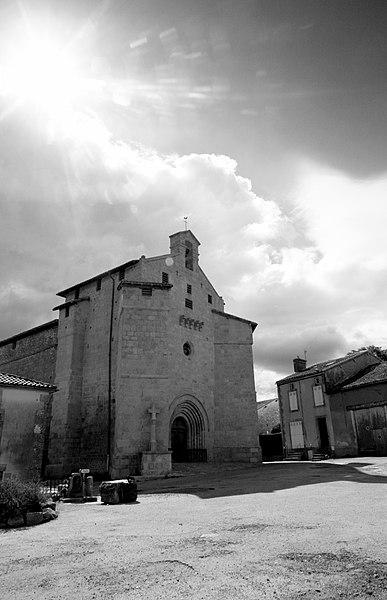 Photo du Monument Historique Eglise de l'Ordination de Saint-Martin situé à Blond