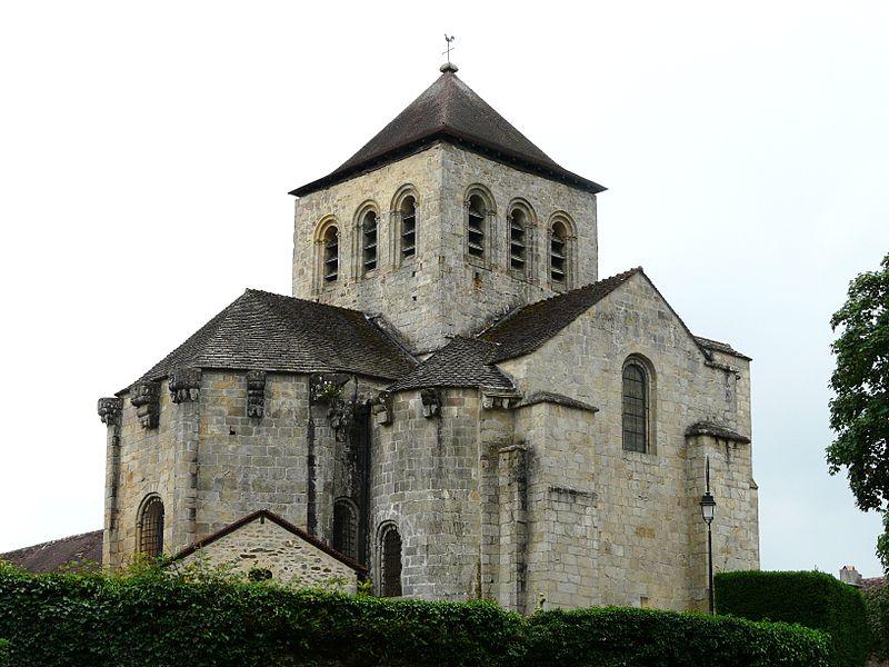 Photo du Monument Historique Eglise de l'Assomption de la Très-Sainte-Vierge£ situé à Chalard (Le)