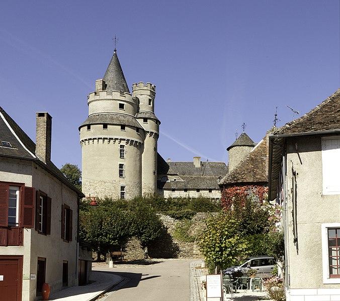 Photo du Monument Historique Château situé à Coussac-Bonneval