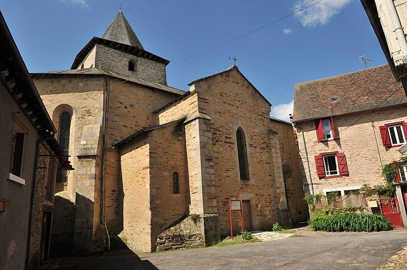 Photo du Monument Historique Eglise Saint-Saturnin situé à Coussac-Bonneval