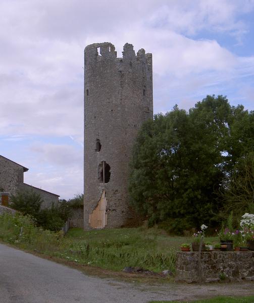 Photo du Monument Historique Château de la Côte-au-Chapt situé à Darnac