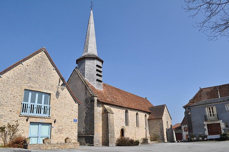 Photo du Monument Historique Eglise Saint-Pierre et Saint-Paul situé à Dompierre-les-Eglises